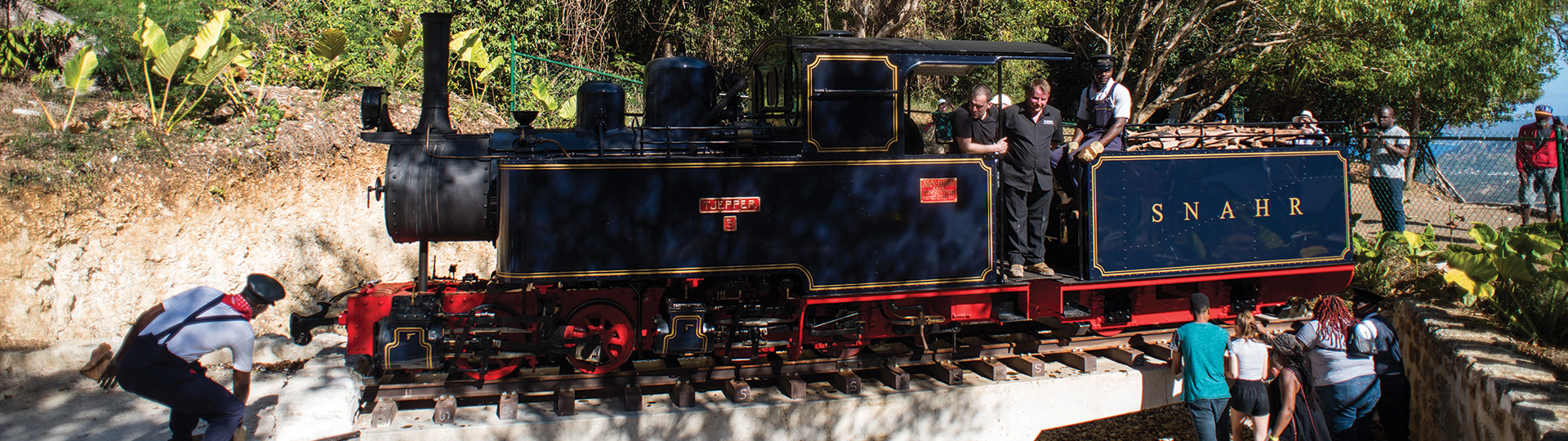St  Nicholas Abbey Heritage Railway, Barbados